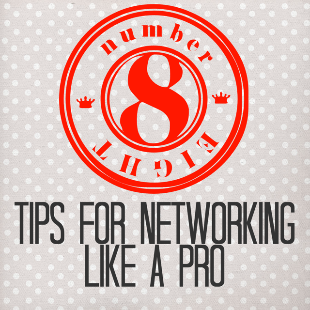 8 tips for networking like a pro  u2014 splash resumes