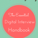 Book Review & Giveaway: The Essential Digital Interview Handbook